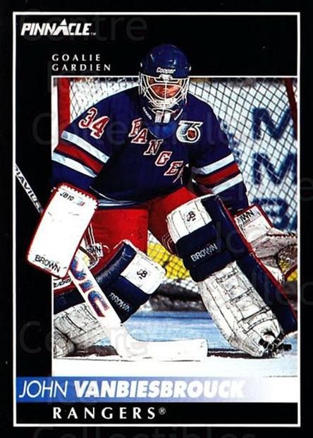 1992-93 Pinnacle Canadian #186 John Vanbiesbrouck<br/>5 In Stock - $1.00 each - <a href=https://centericecollectibles.foxycart.com/cart?name=1992-93%20Pinnacle%20Canadian%20%23186%20John%20Vanbiesbro...&quantity_max=5&price=$1.00&code=9423 class=foxycart> Buy it now! </a>