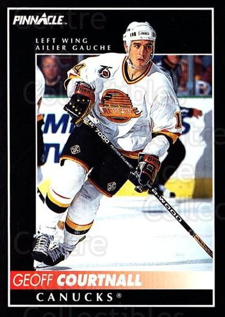 1992-93 Pinnacle Canadian #187 Geoff Courtnall<br/>3 In Stock - $1.00 each - <a href=https://centericecollectibles.foxycart.com/cart?name=1992-93%20Pinnacle%20Canadian%20%23187%20Geoff%20Courtnall...&quantity_max=3&price=$1.00&code=9424 class=foxycart> Buy it now! </a>