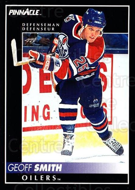 1992-93 Pinnacle Canadian #192 Geoff Smith<br/>3 In Stock - $1.00 each - <a href=https://centericecollectibles.foxycart.com/cart?name=1992-93%20Pinnacle%20Canadian%20%23192%20Geoff%20Smith...&quantity_max=3&price=$1.00&code=9430 class=foxycart> Buy it now! </a>