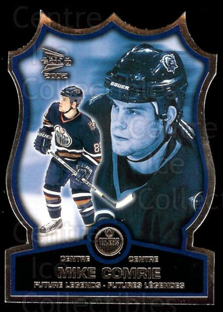 2001-02 McDonalds Pacific Future Legends #1 Mike Comrie<br/>1 In Stock - $5.00 each - <a href=https://centericecollectibles.foxycart.com/cart?name=2001-02%20McDonalds%20Pacific%20Future%20Legends%20%231%20Mike%20Comrie...&quantity_max=1&price=$5.00&code=94452 class=foxycart> Buy it now! </a>
