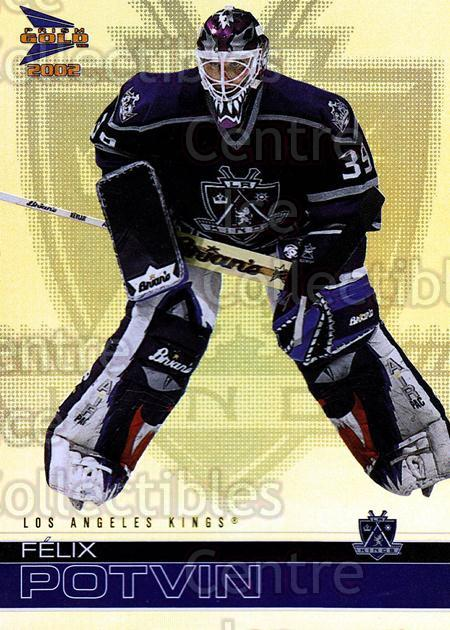2001-02 McDonalds Pacific #19 Felix Potvin<br/>5 In Stock - $1.00 each - <a href=https://centericecollectibles.foxycart.com/cart?name=2001-02%20McDonalds%20Pacific%20%2319%20Felix%20Potvin...&quantity_max=5&price=$1.00&code=94484 class=foxycart> Buy it now! </a>