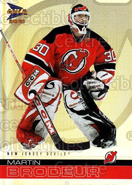 2001-02 McDonald's Pacific #24 Martin Brodeur<br/>3 In Stock - $1.00 each - <a href=https://centericecollectibles.foxycart.com/cart?name=2001-02%20McDonald's%20Pacific%20%2324%20Martin%20Brodeur...&price=$1.00&code=94489 class=foxycart> Buy it now! </a>