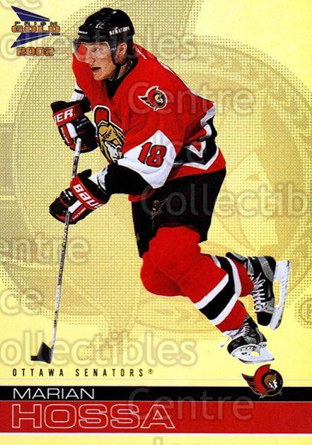 2001-02 McDonalds Pacific #26 Marian Hossa<br/>10 In Stock - $1.00 each - <a href=https://centericecollectibles.foxycart.com/cart?name=2001-02%20McDonalds%20Pacific%20%2326%20Marian%20Hossa...&quantity_max=10&price=$1.00&code=94490 class=foxycart> Buy it now! </a>