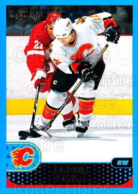 2001-02 O-Pee-Chee #106 Jarome Iginla<br/>1 In Stock - $1.00 each - <a href=https://centericecollectibles.foxycart.com/cart?name=2001-02%20O-Pee-Chee%20%23106%20Jarome%20Iginla...&quantity_max=1&price=$1.00&code=94627 class=foxycart> Buy it now! </a>