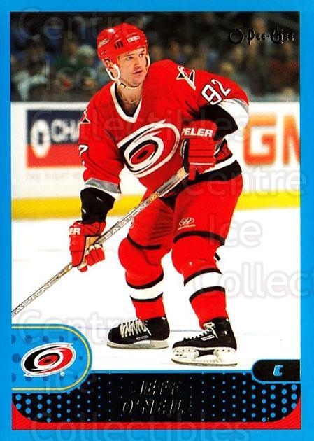 2001-02 O-Pee-Chee #107 Jeff O'Neill<br/>3 In Stock - $1.00 each - <a href=https://centericecollectibles.foxycart.com/cart?name=2001-02%20O-Pee-Chee%20%23107%20Jeff%20O'Neill...&quantity_max=3&price=$1.00&code=94628 class=foxycart> Buy it now! </a>