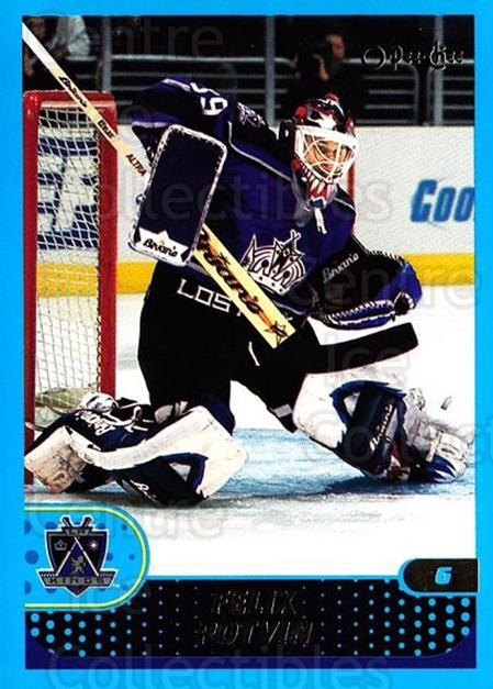 2001-02 O-Pee-Chee #173 Felix Potvin<br/>1 In Stock - $1.00 each - <a href=https://centericecollectibles.foxycart.com/cart?name=2001-02%20O-Pee-Chee%20%23173%20Felix%20Potvin...&quantity_max=1&price=$1.00&code=94701 class=foxycart> Buy it now! </a>
