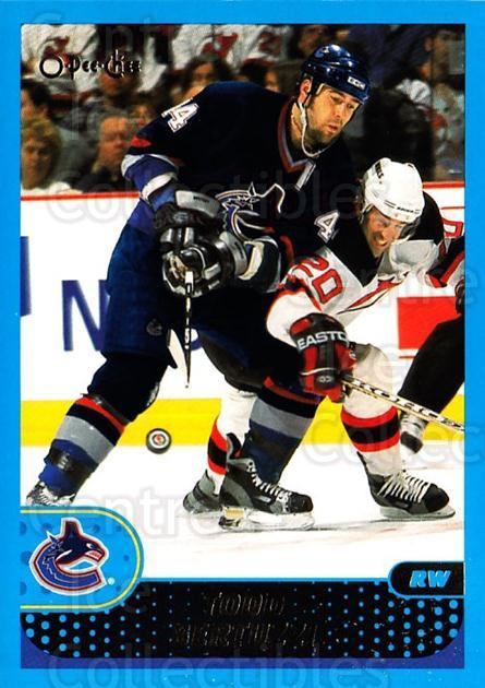 2001-02 O-Pee-Chee #178 Todd Bertuzzi<br/>8 In Stock - $1.00 each - <a href=https://centericecollectibles.foxycart.com/cart?name=2001-02%20O-Pee-Chee%20%23178%20Todd%20Bertuzzi...&quantity_max=8&price=$1.00&code=94706 class=foxycart> Buy it now! </a>