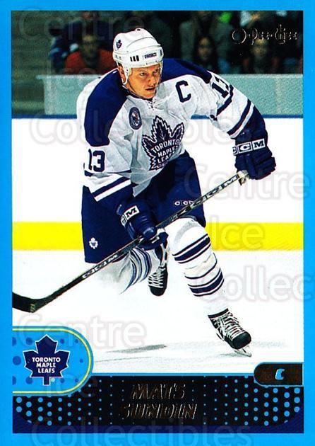2001-02 O-Pee-Chee #19 Mats Sundin<br/>2 In Stock - $1.00 each - <a href=https://centericecollectibles.foxycart.com/cart?name=2001-02%20O-Pee-Chee%20%2319%20Mats%20Sundin...&quantity_max=2&price=$1.00&code=94719 class=foxycart> Buy it now! </a>
