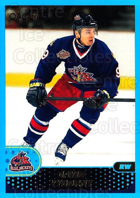 2001-02 O-Pee-Chee #195 David Vyborny<br/>3 In Stock - $1.00 each - <a href=https://centericecollectibles.foxycart.com/cart?name=2001-02%20O-Pee-Chee%20%23195%20David%20Vyborny...&quantity_max=3&price=$1.00&code=94725 class=foxycart> Buy it now! </a>