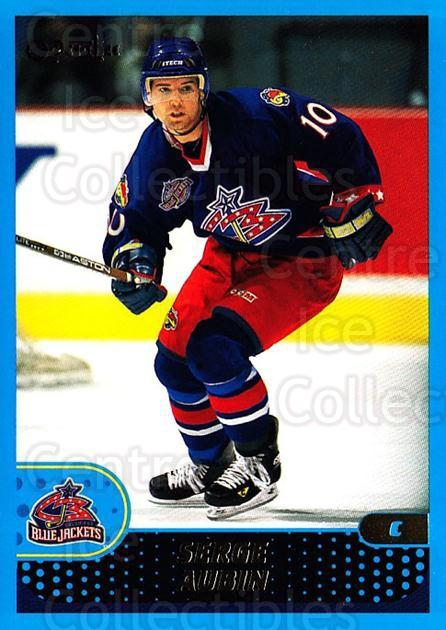 2001-02 O-Pee-Chee #211 Serge Aubin<br/>4 In Stock - $1.00 each - <a href=https://centericecollectibles.foxycart.com/cart?name=2001-02%20O-Pee-Chee%20%23211%20Serge%20Aubin...&quantity_max=4&price=$1.00&code=94744 class=foxycart> Buy it now! </a>
