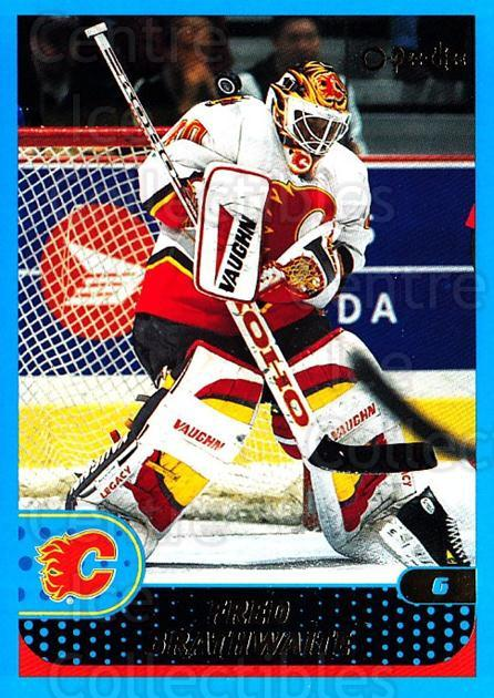 2001-02 O-Pee-Chee #217 Fred Brathwaite<br/>1 In Stock - $1.00 each - <a href=https://centericecollectibles.foxycart.com/cart?name=2001-02%20O-Pee-Chee%20%23217%20Fred%20Brathwaite...&quantity_max=1&price=$1.00&code=94750 class=foxycart> Buy it now! </a>