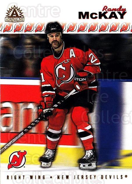 2001-02 Adrenaline #116 Randy McKay<br/>4 In Stock - $1.00 each - <a href=https://centericecollectibles.foxycart.com/cart?name=2001-02%20Adrenaline%20%23116%20Randy%20McKay...&quantity_max=4&price=$1.00&code=94856 class=foxycart> Buy it now! </a>