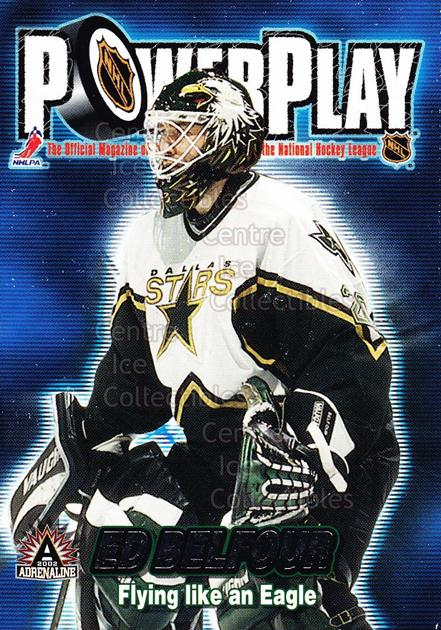2001-02 Adrenaline Power Play #12 Ed Belfour<br/>7 In Stock - $2.00 each - <a href=https://centericecollectibles.foxycart.com/cart?name=2001-02%20Adrenaline%20Power%20Play%20%2312%20Ed%20Belfour...&price=$2.00&code=94869 class=foxycart> Buy it now! </a>