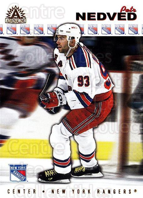 2001-02 Adrenaline #129 Petr Nedved<br/>4 In Stock - $1.00 each - <a href=https://centericecollectibles.foxycart.com/cart?name=2001-02%20Adrenaline%20%23129%20Petr%20Nedved...&quantity_max=4&price=$1.00&code=94958 class=foxycart> Buy it now! </a>
