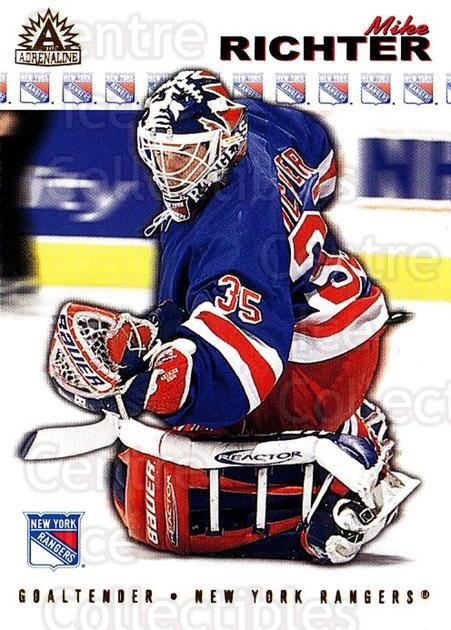 2001-02 Adrenaline #130 Mike Richter<br/>5 In Stock - $1.00 each - <a href=https://centericecollectibles.foxycart.com/cart?name=2001-02%20Adrenaline%20%23130%20Mike%20Richter...&quantity_max=5&price=$1.00&code=94960 class=foxycart> Buy it now! </a>