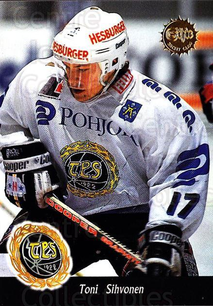 1994-95 Finnish SISU #136 Toni Sihvonen<br/>4 In Stock - $2.00 each - <a href=https://centericecollectibles.foxycart.com/cart?name=1994-95%20Finnish%20SISU%20%23136%20Toni%20Sihvonen...&quantity_max=4&price=$2.00&code=949 class=foxycart> Buy it now! </a>
