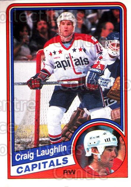 1984-85 O-Pee-Chee #203 Craig Laughlin<br/>6 In Stock - $1.00 each - <a href=https://centericecollectibles.foxycart.com/cart?name=1984-85%20O-Pee-Chee%20%23203%20Craig%20Laughlin...&quantity_max=6&price=$1.00&code=94 class=foxycart> Buy it now! </a>