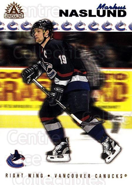2001-02 Adrenaline #191 Markus Naslund<br/>5 In Stock - $1.00 each - <a href=https://centericecollectibles.foxycart.com/cart?name=2001-02%20Adrenaline%20%23191%20Markus%20Naslund...&quantity_max=5&price=$1.00&code=95019 class=foxycart> Buy it now! </a>