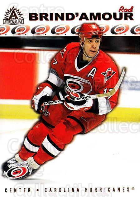 2001-02 Adrenaline #31 Rod Brind'Amour<br/>5 In Stock - $1.00 each - <a href=https://centericecollectibles.foxycart.com/cart?name=2001-02%20Adrenaline%20%2331%20Rod%20Brind'Amour...&quantity_max=5&price=$1.00&code=95050 class=foxycart> Buy it now! </a>
