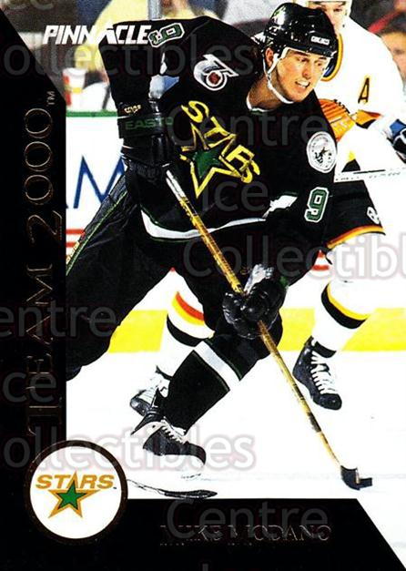 1992-93 Pinnacle Team 2000 #2 Mike Modano<br/>8 In Stock - $2.00 each - <a href=https://centericecollectibles.foxycart.com/cart?name=1992-93%20Pinnacle%20Team%202000%20%232%20Mike%20Modano...&quantity_max=8&price=$2.00&code=9509 class=foxycart> Buy it now! </a>