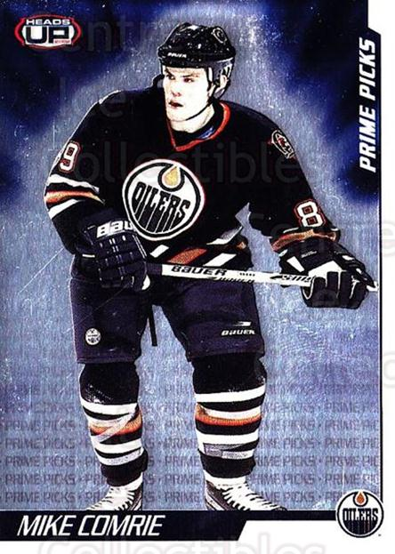 2001-02 Heads-Up Prime Picks #1 Mike Comrie<br/>3 In Stock - $3.00 each - <a href=https://centericecollectibles.foxycart.com/cart?name=2001-02%20Heads-Up%20Prime%20Picks%20%231%20Mike%20Comrie...&quantity_max=3&price=$3.00&code=95173 class=foxycart> Buy it now! </a>