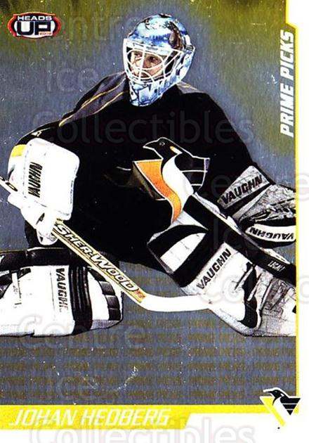 2001-02 Heads-Up Prime Picks #6 Johan Hedberg<br/>1 In Stock - $3.00 each - <a href=https://centericecollectibles.foxycart.com/cart?name=2001-02%20Heads-Up%20Prime%20Picks%20%236%20Johan%20Hedberg...&quantity_max=1&price=$3.00&code=95179 class=foxycart> Buy it now! </a>