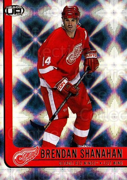 2001-02 Heads-Up #38 Brendan Shanahan<br/>6 In Stock - $1.00 each - <a href=https://centericecollectibles.foxycart.com/cart?name=2001-02%20Heads-Up%20%2338%20Brendan%20Shanaha...&quantity_max=6&price=$1.00&code=95186 class=foxycart> Buy it now! </a>