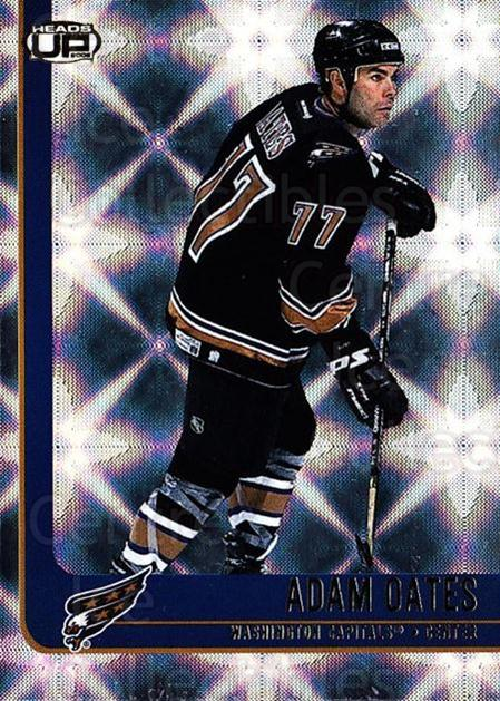 2001-02 Heads-Up #100 Adam Oates<br/>5 In Stock - $1.00 each - <a href=https://centericecollectibles.foxycart.com/cart?name=2001-02%20Heads-Up%20%23100%20Adam%20Oates...&quantity_max=5&price=$1.00&code=95229 class=foxycart> Buy it now! </a>