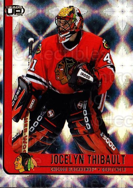 2001-02 Heads-Up #20 Jocelyn Thibault<br/>6 In Stock - $1.00 each - <a href=https://centericecollectibles.foxycart.com/cart?name=2001-02%20Heads-Up%20%2320%20Jocelyn%20Thibaul...&quantity_max=6&price=$1.00&code=95251 class=foxycart> Buy it now! </a>