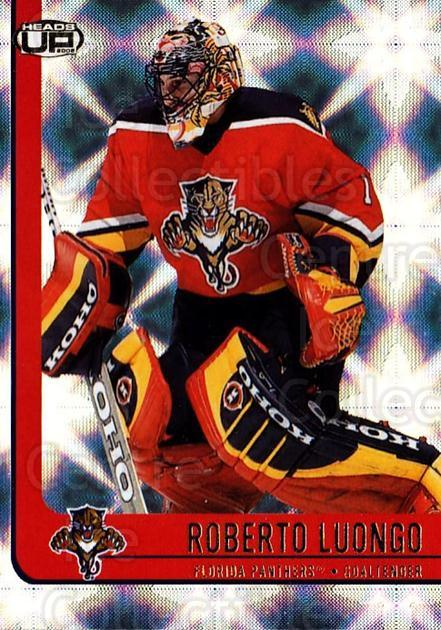 2001-02 Heads-Up #44 Roberto Luongo<br/>6 In Stock - $1.00 each - <a href=https://centericecollectibles.foxycart.com/cart?name=2001-02%20Heads-Up%20%2344%20Roberto%20Luongo...&quantity_max=6&price=$1.00&code=95264 class=foxycart> Buy it now! </a>