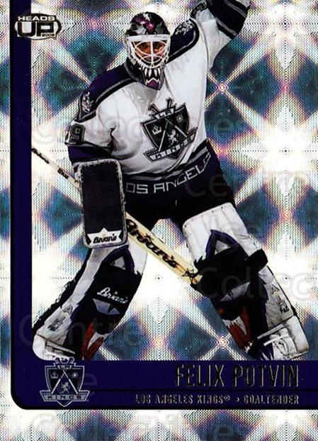 2001-02 Heads-Up #47 Felix Potvin<br/>3 In Stock - $1.00 each - <a href=https://centericecollectibles.foxycart.com/cart?name=2001-02%20Heads-Up%20%2347%20Felix%20Potvin...&quantity_max=3&price=$1.00&code=95267 class=foxycart> Buy it now! </a>