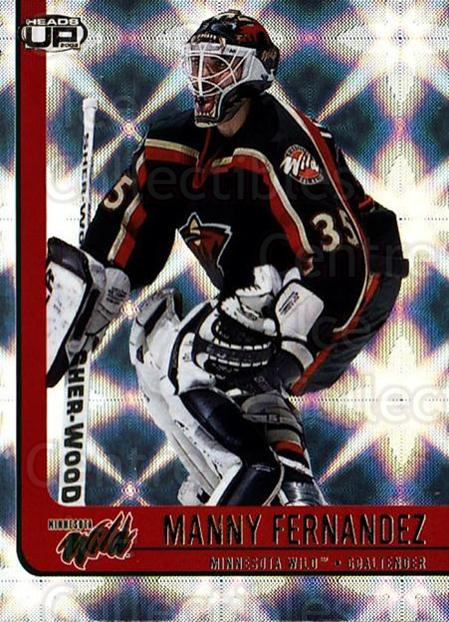 2001-02 Heads-Up #48 Manny Fernandez<br/>6 In Stock - $1.00 each - <a href=https://centericecollectibles.foxycart.com/cart?name=2001-02%20Heads-Up%20%2348%20Manny%20Fernandez...&quantity_max=6&price=$1.00&code=95268 class=foxycart> Buy it now! </a>