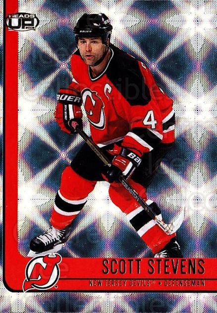 2001-02 Heads-Up #58 Scott Stevens<br/>6 In Stock - $1.00 each - <a href=https://centericecollectibles.foxycart.com/cart?name=2001-02%20Heads-Up%20%2358%20Scott%20Stevens...&quantity_max=6&price=$1.00&code=95276 class=foxycart> Buy it now! </a>