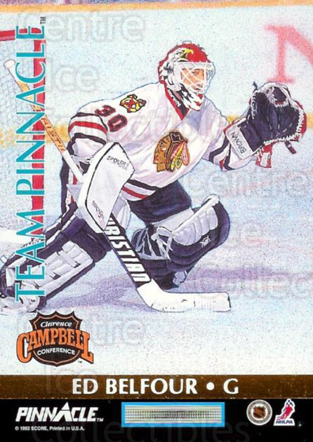 1992-93 Pinnacle Team Pinnacle #1 Mike Richter, Ed Belfour<br/>2 In Stock - $3.00 each - <a href=https://centericecollectibles.foxycart.com/cart?name=1992-93%20Pinnacle%20Team%20Pinnacle%20%231%20Mike%20Richter,%20E...&quantity_max=2&price=$3.00&code=9527 class=foxycart> Buy it now! </a>