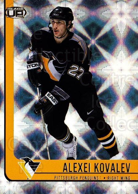 2001-02 Heads-Up #77 Alexei Kovalev<br/>6 In Stock - $1.00 each - <a href=https://centericecollectibles.foxycart.com/cart?name=2001-02%20Heads-Up%20%2377%20Alexei%20Kovalev...&quantity_max=6&price=$1.00&code=95296 class=foxycart> Buy it now! </a>