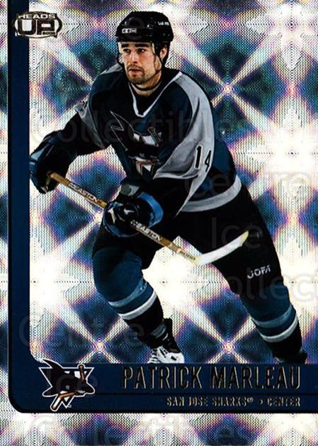 2001-02 Heads-Up #83 Patrick Marleau<br/>6 In Stock - $1.00 each - <a href=https://centericecollectibles.foxycart.com/cart?name=2001-02%20Heads-Up%20%2383%20Patrick%20Marleau...&quantity_max=6&price=$1.00&code=95301 class=foxycart> Buy it now! </a>