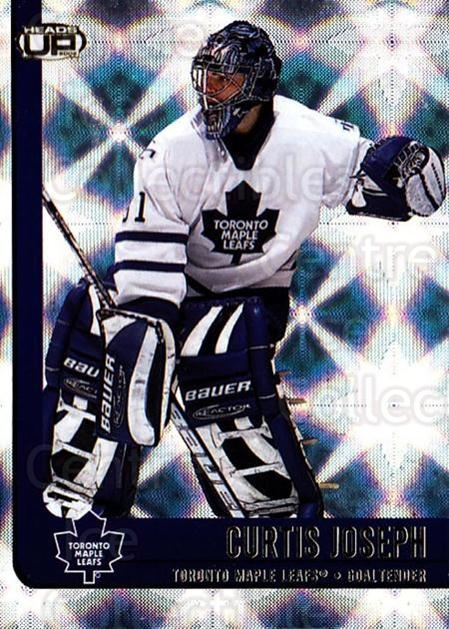 2001-02 Heads-Up #89 Curtis Joseph<br/>5 In Stock - $1.00 each - <a href=https://centericecollectibles.foxycart.com/cart?name=2001-02%20Heads-Up%20%2389%20Curtis%20Joseph...&quantity_max=5&price=$1.00&code=95306 class=foxycart> Buy it now! </a>