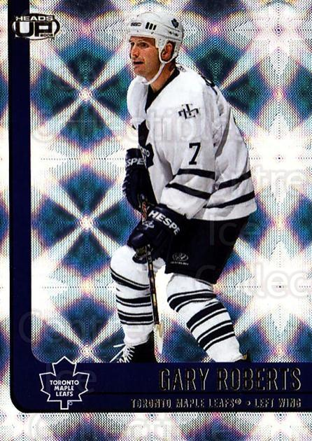 2001-02 Heads-Up #91 Gary Roberts<br/>6 In Stock - $1.00 each - <a href=https://centericecollectibles.foxycart.com/cart?name=2001-02%20Heads-Up%20%2391%20Gary%20Roberts...&quantity_max=6&price=$1.00&code=95309 class=foxycart> Buy it now! </a>