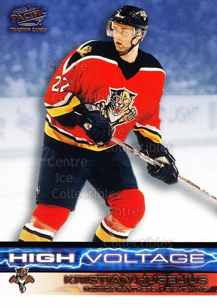 2001-02 Pacific High Voltage #5 Kristian Huselius<br/>11 In Stock - $2.00 each - <a href=https://centericecollectibles.foxycart.com/cart?name=2001-02%20Pacific%20High%20Voltage%20%235%20Kristian%20Huseli...&quantity_max=11&price=$2.00&code=95323 class=foxycart> Buy it now! </a>