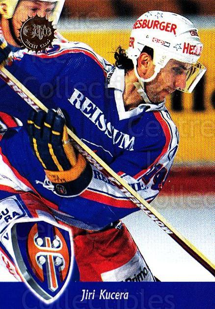 1994-95 Finnish SISU #14 Jiri Kucera<br/>2 In Stock - $2.00 each - <a href=https://centericecollectibles.foxycart.com/cart?name=1994-95%20Finnish%20SISU%20%2314%20Jiri%20Kucera...&quantity_max=2&price=$2.00&code=953 class=foxycart> Buy it now! </a>