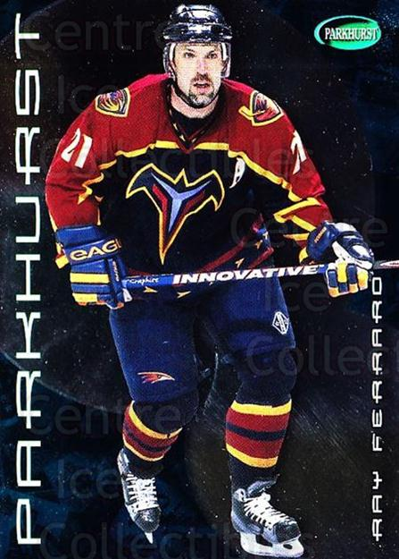 2001-02 Parkhurst #102 Ray Ferraro<br/>7 In Stock - $1.00 each - <a href=https://centericecollectibles.foxycart.com/cart?name=2001-02%20Parkhurst%20%23102%20Ray%20Ferraro...&quantity_max=7&price=$1.00&code=95761 class=foxycart> Buy it now! </a>