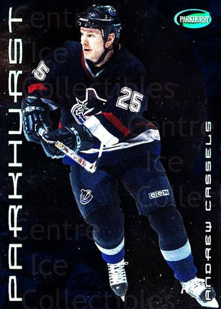 2001-02 Parkhurst #115 Andrew Cassels<br/>9 In Stock - $1.00 each - <a href=https://centericecollectibles.foxycart.com/cart?name=2001-02%20Parkhurst%20%23115%20Andrew%20Cassels...&quantity_max=9&price=$1.00&code=95775 class=foxycart> Buy it now! </a>