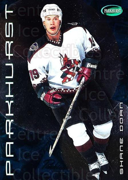 2001-02 Parkhurst #124 Shane Doan<br/>8 In Stock - $1.00 each - <a href=https://centericecollectibles.foxycart.com/cart?name=2001-02%20Parkhurst%20%23124%20Shane%20Doan...&quantity_max=8&price=$1.00&code=95785 class=foxycart> Buy it now! </a>