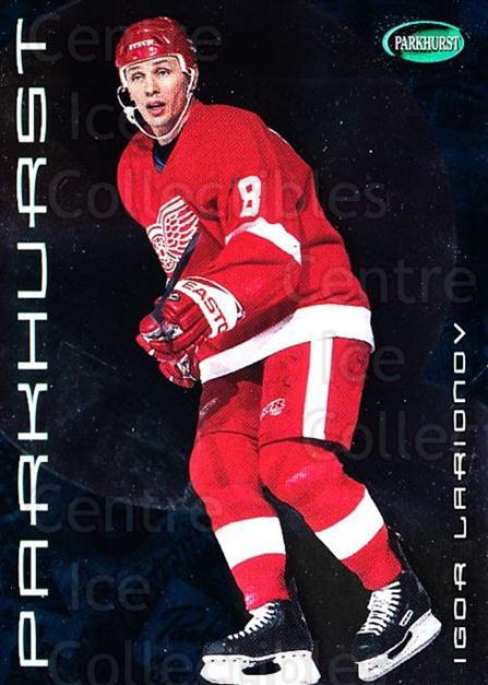 2001-02 Parkhurst #150 Igor Larionov<br/>7 In Stock - $1.00 each - <a href=https://centericecollectibles.foxycart.com/cart?name=2001-02%20Parkhurst%20%23150%20Igor%20Larionov...&quantity_max=7&price=$1.00&code=95811 class=foxycart> Buy it now! </a>