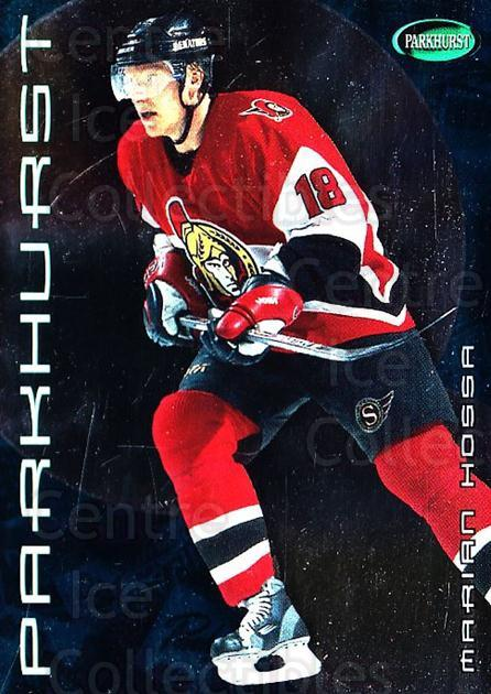2001-02 Parkhurst #21 Marian Hossa<br/>6 In Stock - $1.00 each - <a href=https://centericecollectibles.foxycart.com/cart?name=2001-02%20Parkhurst%20%2321%20Marian%20Hossa...&quantity_max=6&price=$1.00&code=95873 class=foxycart> Buy it now! </a>