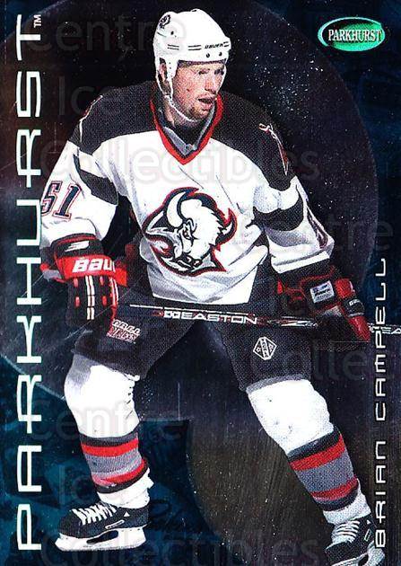 2001-02 Parkhurst #236 Brian Campbell<br/>10 In Stock - $1.00 each - <a href=https://centericecollectibles.foxycart.com/cart?name=2001-02%20Parkhurst%20%23236%20Brian%20Campbell...&quantity_max=10&price=$1.00&code=95901 class=foxycart> Buy it now! </a>