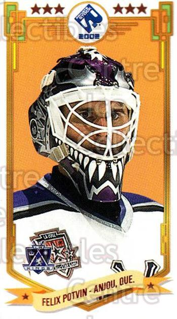 2001-02 Private Stock PS 2002 Action #37 Felix Potvin<br/>5 In Stock - $1.00 each - <a href=https://centericecollectibles.foxycart.com/cart?name=2001-02%20Private%20Stock%20PS%202002%20Action%20%2337%20Felix%20Potvin...&quantity_max=5&price=$1.00&code=95959 class=foxycart> Buy it now! </a>