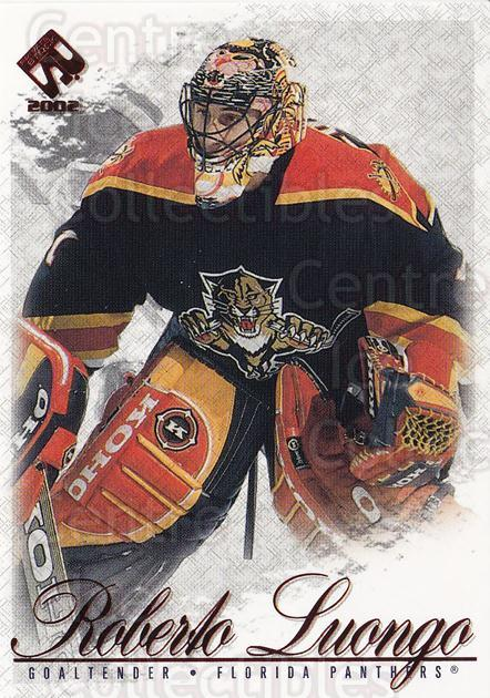 2001-02 Private Stock Hobby Red #43 Roberto Luongo<br/>2 In Stock - $2.00 each - <a href=https://centericecollectibles.foxycart.com/cart?name=2001-02%20Private%20Stock%20Hobby%20Red%20%2343%20Roberto%20Luongo...&quantity_max=2&price=$2.00&code=96093 class=foxycart> Buy it now! </a>