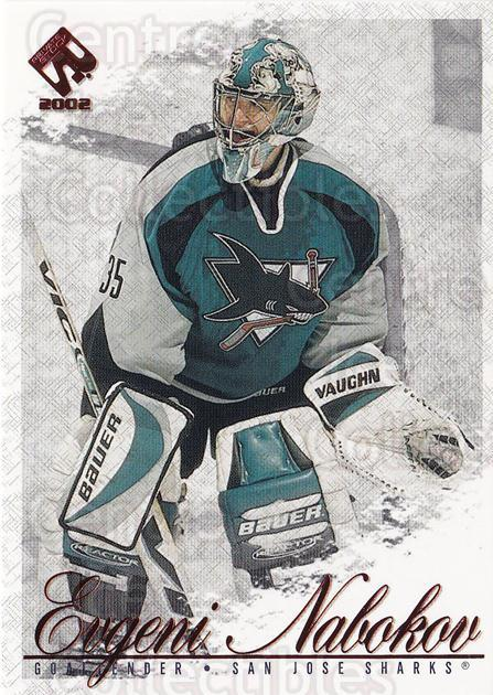 2001-02 Private Stock Hobby Red #85 Evgeni Nabokov<br/>3 In Stock - $1.00 each - <a href=https://centericecollectibles.foxycart.com/cart?name=2001-02%20Private%20Stock%20Hobby%20Red%20%2385%20Evgeni%20Nabokov...&quantity_max=3&price=$1.00&code=96137 class=foxycart> Buy it now! </a>
