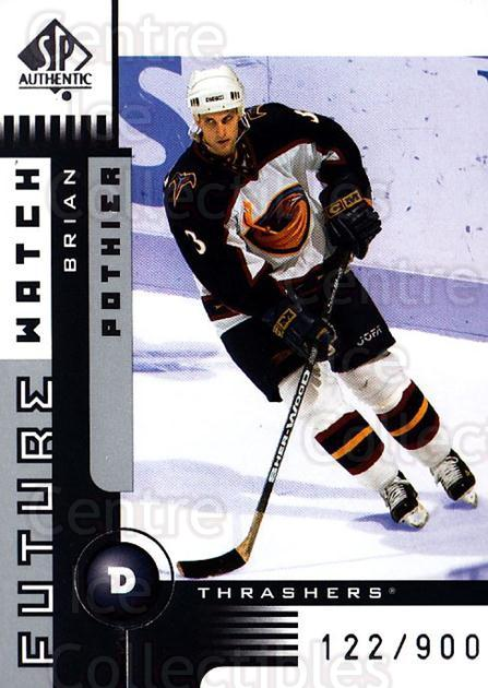 2001-02 SP Authentic #134 Brian Pothier<br/>7 In Stock - $5.00 each - <a href=https://centericecollectibles.foxycart.com/cart?name=2001-02%20SP%20Authentic%20%23134%20Brian%20Pothier...&quantity_max=7&price=$5.00&code=96493 class=foxycart> Buy it now! </a>